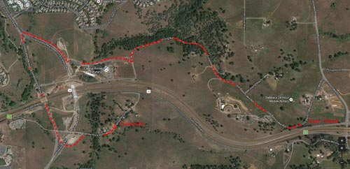 2nd Annual Lincoln Hwy 8K Fun Run Race Route